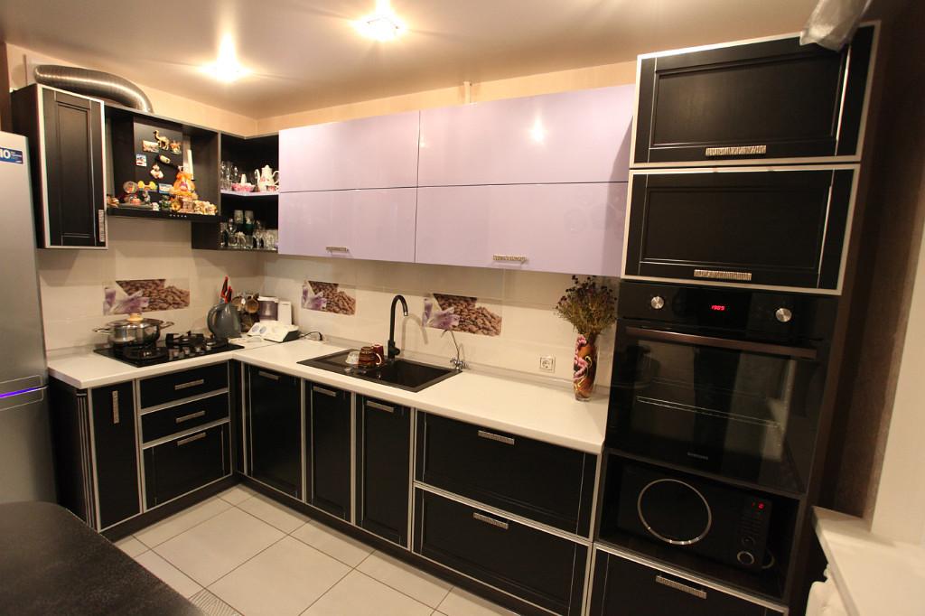 Schwarz-Weiß-Fotos von der Küche