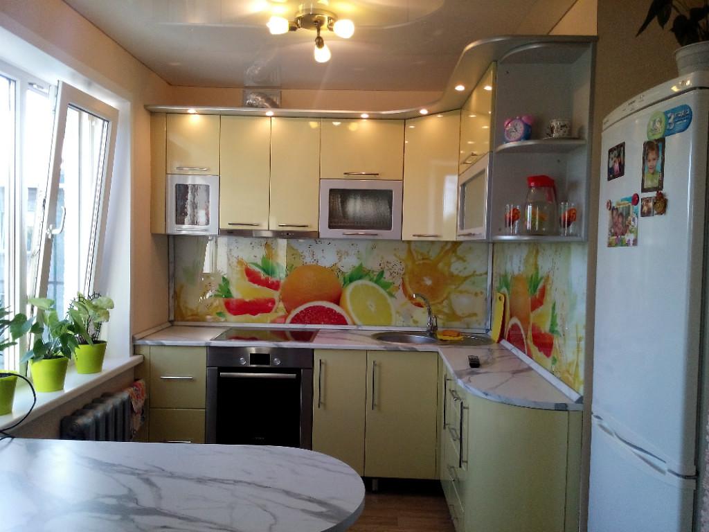 Красивый дизайн для кухни в хрущевке