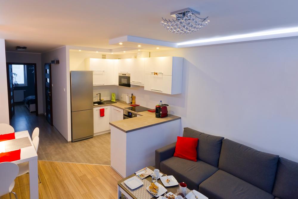 Кухня гостиная: особенности оформления интерьера, 100+ фото